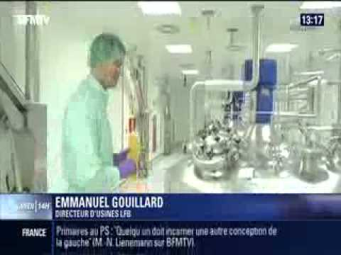 15 June 2014: BFM TV report on LFB for World Blood Donor Day (in French)