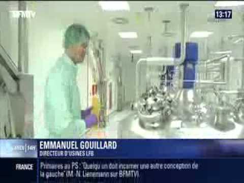 15 de junio de 2014: reportaje de BFM TV sobre LFB con ocasión del Día Mundial del Donante de Sangre (en Francés)