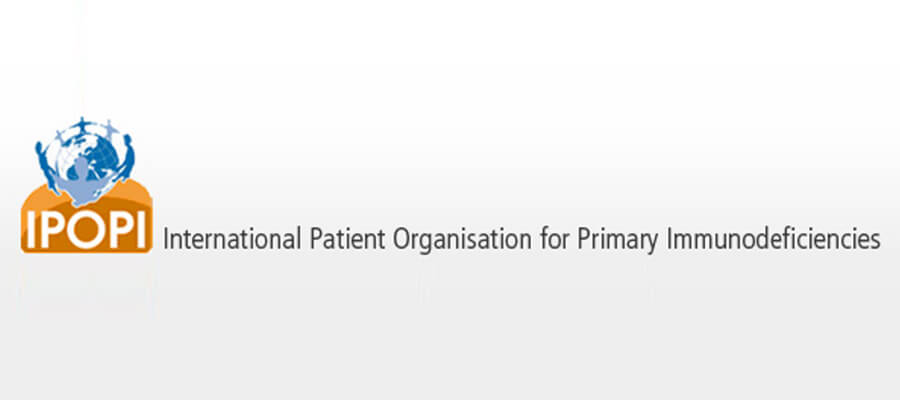 Logo International Patient Organisation for Primary Immunodeficiencies