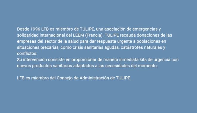LFB es miembro de TULIPE